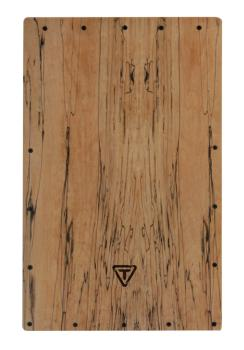 Legacy Series Cajon Spalted Maple Replacement Front Plate (HL-00755474)
