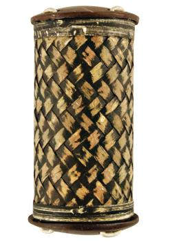 Small Rattan Bamboo Shaker (HL-00755579)