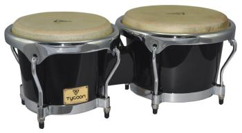 Master Series Black Finish Bongos: 7 inch. & 8-1/2 inch. (HL-00755727)