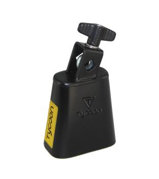 3.5 inch. Black Powder Coated Cowbell (HL-00755750)