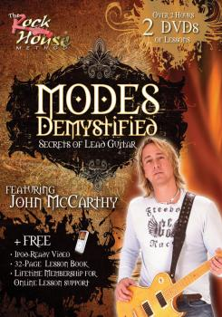 John McCarthy - Modes Demystified: Secrets of Lead Guitar (HL-14021647)
