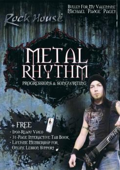 Michael Paget of Bullet for My Valentine - Metal Rhythm: Progressions  (HL-14028737)