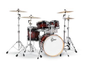 Gretsch Renown 4 Piece Drum Set (20/10/12/14) (Cherry Burst) (HL-00775869)