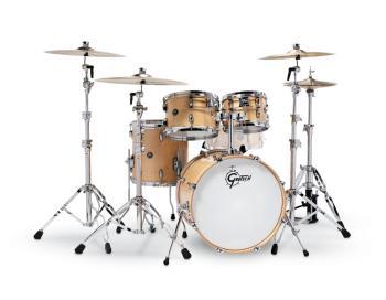 Gretsch Renown 4 Piece Drum Set (20/10/12/14) (Gloss Natural) (HL-00775870)