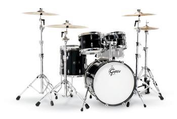 Gretsch Renown 4 Piece Drum Set (20/10/12/14) (Piano Black) (HL-00775871)