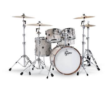 Gretsch Renown 4 Piece Drum Set (20/10/12/14) (Vintage Pearl) (HL-00775874)