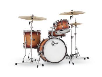 Gretsch Renown 4 Piece Drum Set (18/12/14/14sn) (Satin Tobacco Burst) (HL-00775909)