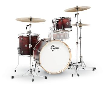 Gretsch Catalina Club 3 Piece Drum Set (20/12/14) (Satin Antique Fade) (HL-00775189)