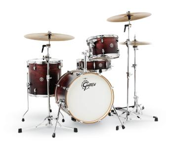 Gretsch Catalina Club 4 Piece Shell Pack (18/12/14/14SN) (Satin Antiqu (HL-00775198)