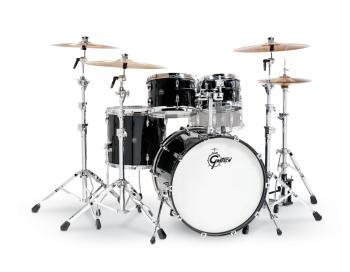 Gretsch Renown 4 Piece Drum Set (22/10/12/16) (Piano Black) (HL-00775885)