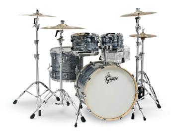 Gretsch Renown 4 Piece Drum Set (22/10/12/16) (Silver Oyster Pearl) (HL-00775886)