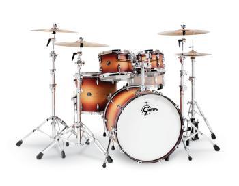 Gretsch Renown 4 Piece Drum Set (22/10/12/16) (Satin Tobacco Burst) (HL-00775887)