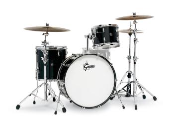Gretsch Renown 3 Piece Drum Set (24/13/16) (Piano Black) (HL-00775914)