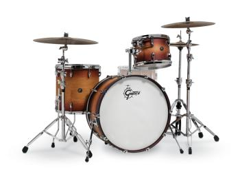 Gretsch Renown 3 Piece Drum Set (24/13/16) (Satin Tobacco Burst) (HL-00775916)