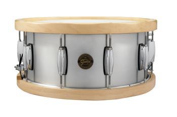 Gretsch 6.5x14 Aluminum Wood Hoop Snare Drum (HL-00776437)