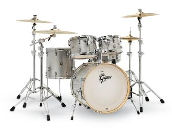 Gretsch Catalina Maple 5 Piece Shell Pack (Silver Sparkle) (HL-00776714)