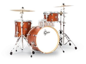 Gretsch Catalina Club 3 Piece Drum Set (20/12/14) (Satin Walnut Glaze) (HL-00776760)