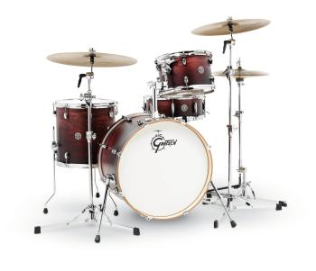 Gretsch Catalina Club 4 Piece Drum Set (20/12/14/14sn) (Satin Antique  (HL-00776761)