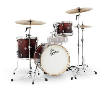 Gretsch Catalina Club 3 Piece Drum Set (18/12/14) (Satin Antique Fade) (HL-00776766)