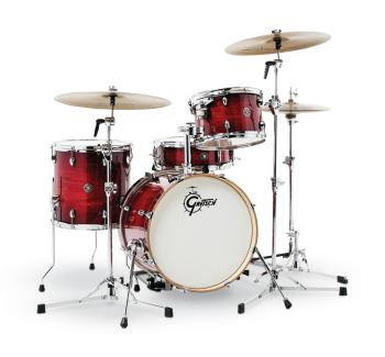 Gretsch Catalina Club 4 Piece Shell Pack (18/12/14/14SN) (Gloss Crimso (HL-00776770)