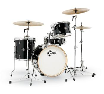 Gretsch Catalina Club 4 Piece Shell Pack (18/12/14/14SN) (Piano Black) (HL-00776773)