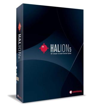 HALion 5 VST Sampler (Retail Edition) (ST-00123067)