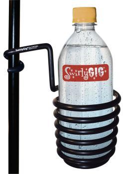 The Original SwirlyGig®: Drink Holder for 1/2 inch. Tubing - Black (HL-00123394)