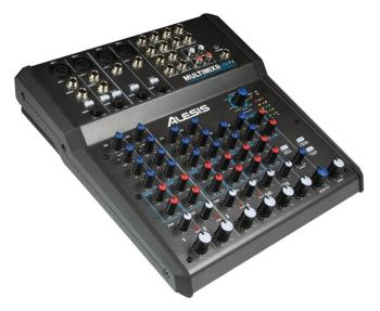 MultiMix 8 USB FX: 8-Channel Mixer with Effects/USB Audio Interface (AL-00121382)
