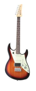 JTV-69 Electric Guitar - Three-tone Sunburst: James Tyler-Designed Dou (LI-00123046)