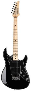 JTV-69S Electric Guitar - Black: James Tyler-Designed Double-Cut Guita (LI-00123048)