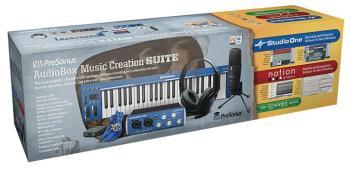 AudioBox Music Creation Suite: USB Hardware/Software Recording Kit (PR-00127608)