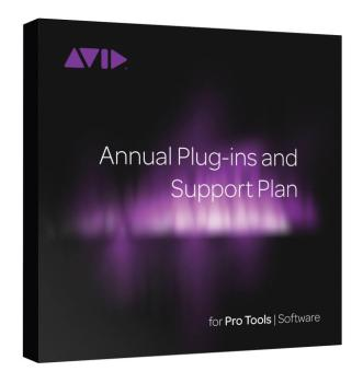 Pro Tools Annual Standard Support and Bonus Plug-Ins (Activation Card) (AV-00153499)