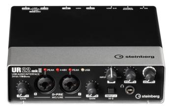 UR22 mkII (USB Audio Interface) (ST-00156085)