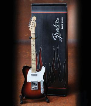 Fender(TM) Telecaster(TM) -¦Sunburst Finish: Officially Licensed Minia (HL-00124300)