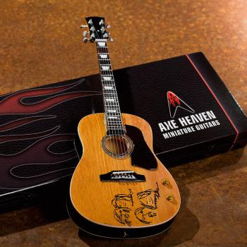 John Lennon Give Peace a Chance Acoustic Guitar Model: Miniature Guita (HL-00124398)