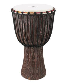 Supremo Select Series Djembe - Lava Wood Finish (Model TAJ-10 LW) (HL-00230748)