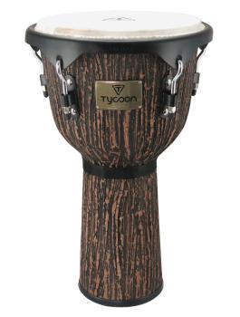 Supremo Select Series Djembe - Lava Wood Finish (Model TJS-72 B LW) (HL-00232718)