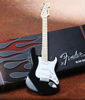 Fender(TM) Stratocaster(TM) - Classic Black Finish: Officially License (HL-00124400)