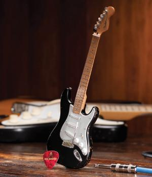 Fender(TM) Stratocaster(TM) - Black Vintage Distressed: Officially Lic (HL-00124401)