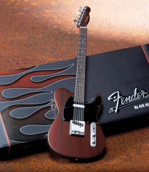 Fender(TM) Telecaster(TM) - Rosewood Finish: Officially Licensed Minia (HL-00124405)