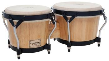 Supremo Series Natural Finish Bongos: 7 inch. & 8-1/2 inch. (TY-00755109)