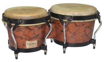 Supremo Series Marble Finish Bongos: 7 inch. & 8-1/2 inch. (TY-00755112)
