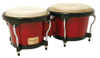 Artist Series Red Finish Bongos: 7 inch. & 8-1/2 inch. (TY-00755115)