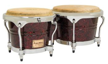 Concerto Series Red Pearl Finish Bongos: 7 inch. & 8-1/2 inch. (TY-00755126)