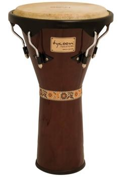 Supremo Series Mahogany Finish Djembe (12 inch.) (TY-00755149)
