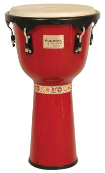 Artist Series Red Finish Djembe (12 inch.) (TY-00755151)