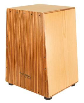 Vertex Series Cajon - American Ash Body and Zebrano Front Plate (TY-00755244)