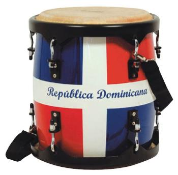 11 inch. Tambora: Dominican Republic Flag Finish (TY-00755283)
