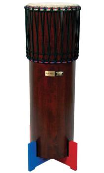 Ngoma Drum with Traditional Dark Brown Finish (Model TDD-NGD SI) (TY-00755681)