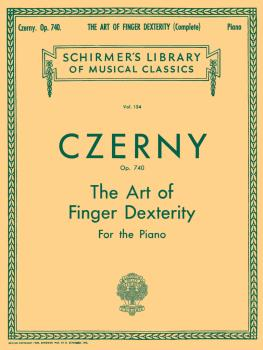 Schirmer Library of Classics Volume 154 (Piano Technique) (HL-50253100)